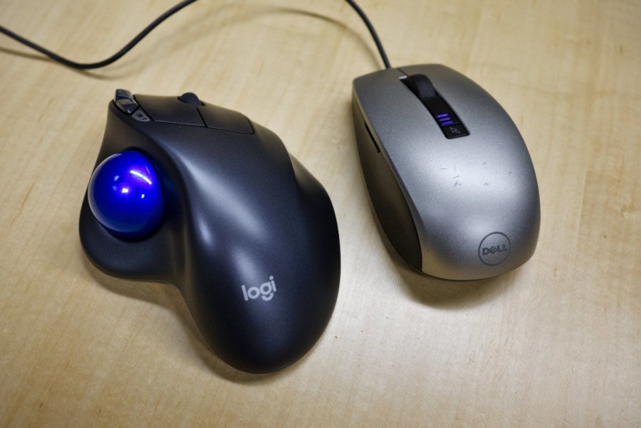Trackball and Mouse